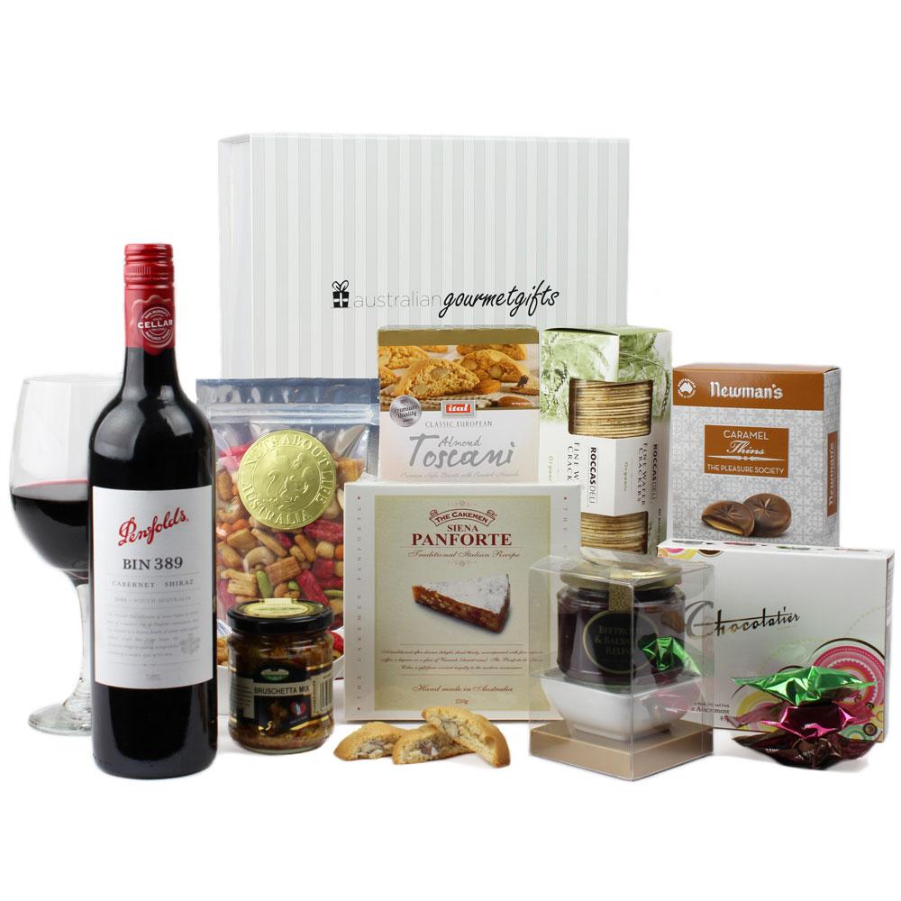 Baby Gift Baskets Hobart : Penfolds gourmet hamper australian gifts