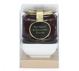 Ogilvie Beetroot & Balsamic Relish and Dish Gift Set