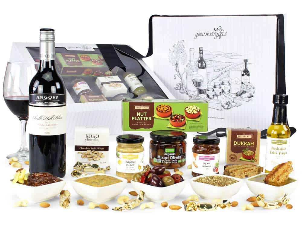 Red Wine Gourmet Hamper