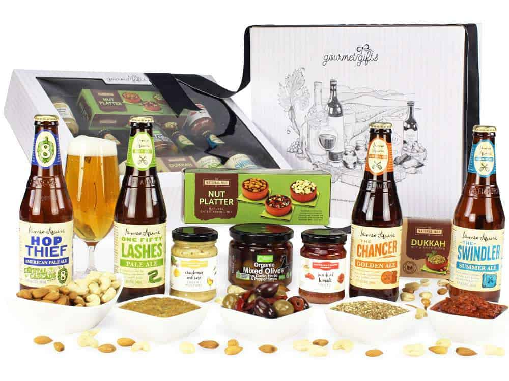 James Squire Beer Hamper and all the products it contains