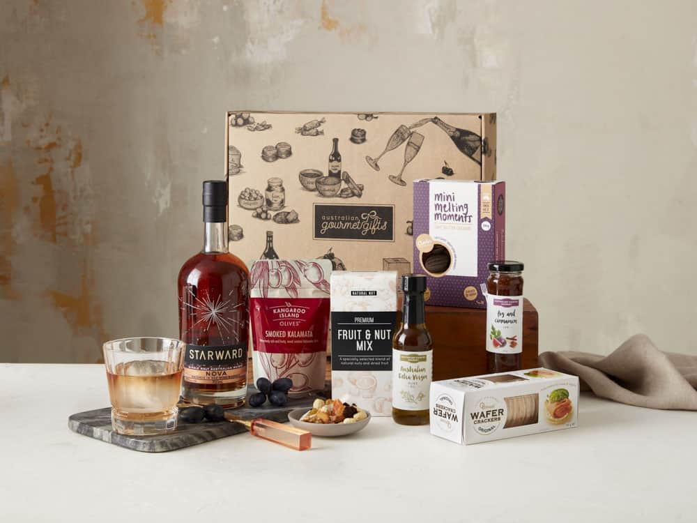 Displaying all the products contained in the Australian Whiskey Hampers