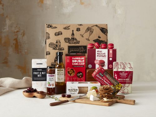 Displaying all the products contained in the Gourmet Sensations Hampers