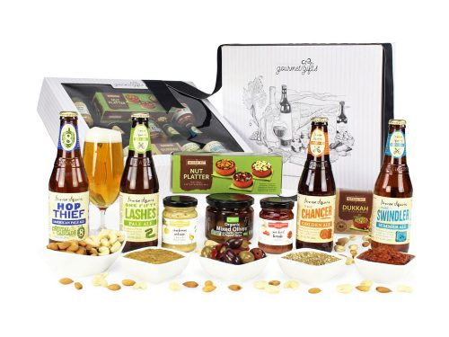 Displaying all the products contained in the James Squire Beer Hampers