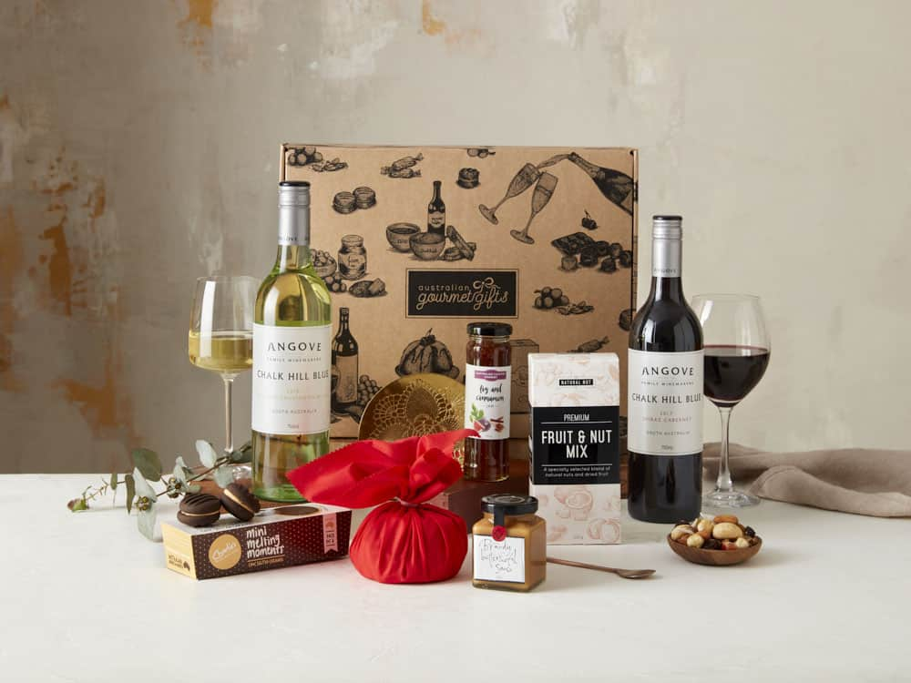 Displaying all the products contained in the Wine Christmas Hampers